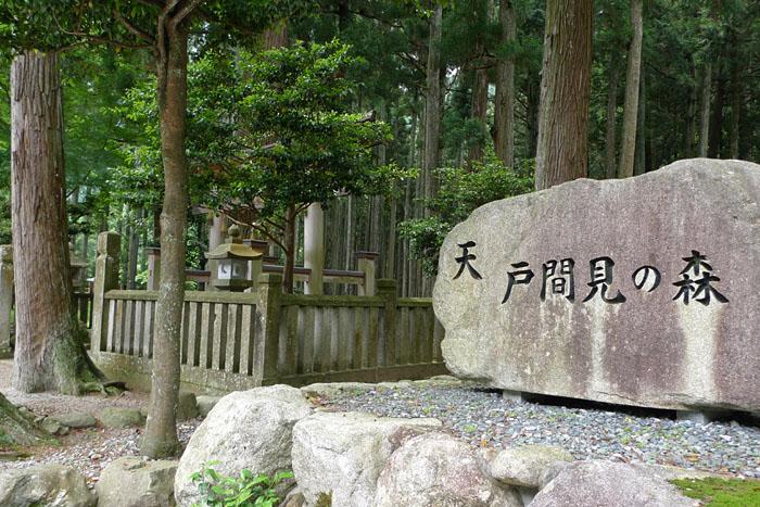 青玉神社 兵庫 天戸間見の森