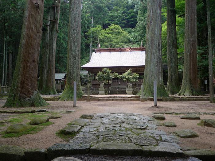 青玉神社 天戸間見の森 兵庫