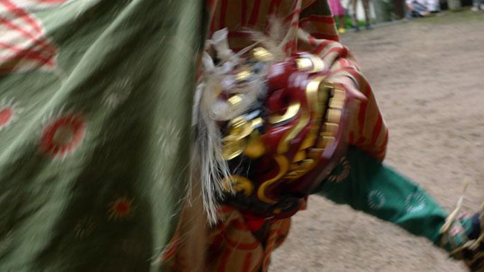躍動 獅子舞 村祭り 秋祭り ひだ 高山
