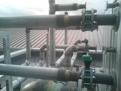 冷温水機工事2
