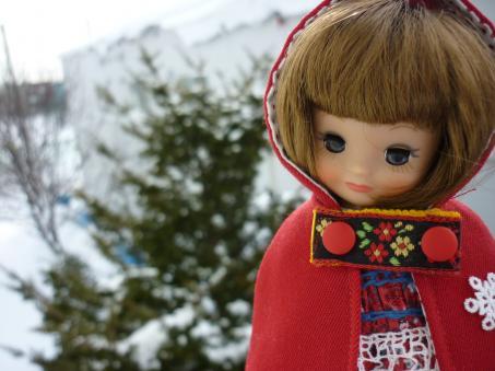 今年の雪はとてもきれい。