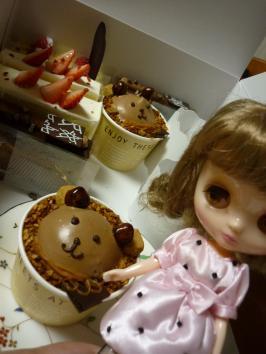 ケーキだよ~ん。