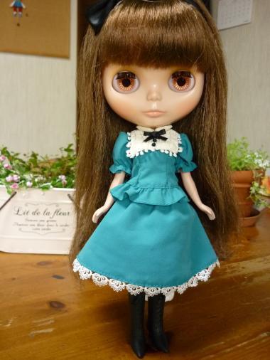 ヴィッキーちゃんのドレスは