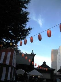神社祭り3