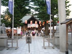 神社祭り4