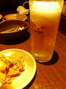 息抜きビール