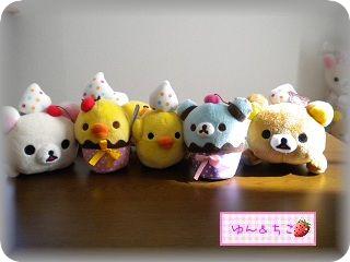 カラフルスイーツコレクションぬいぐるみ-9