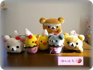 カラフルスイーツコレクションぬいぐるみ-10