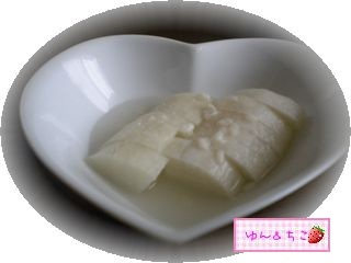ゆんのお料理レシピ♪1べったら漬け風お漬物-4