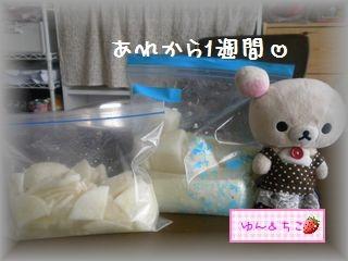 ちこちゃん日記★115★べったら漬け完成~♪-1