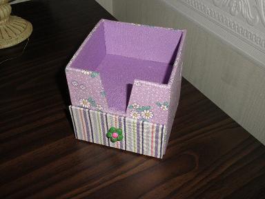 大石さんメモ帳ボックス