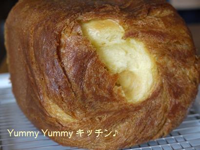 ブリオッシュ食パンおしり
