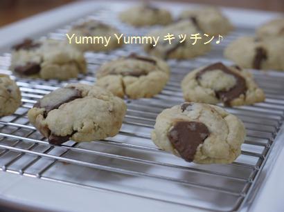 ちょりママのぽっきり板チョコチップクッキー♪