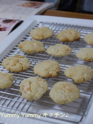 ちょりママのクッキー(ホワイトチョコで)