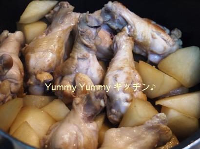 鶏手羽元と大根のさっぱり煮♪
