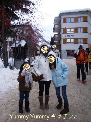 Tさんドイツスキー場にて☆