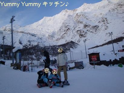 Tさんドイツスキー場にて♪