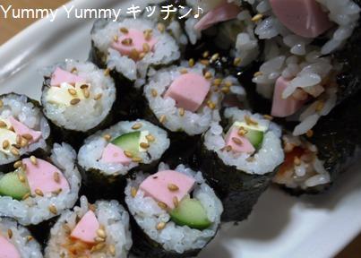 お魚ソーセージde簡単キムパプ☆