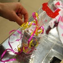 2010バレンタイン親子クッキングセミナー♪ ラッピングリボン
