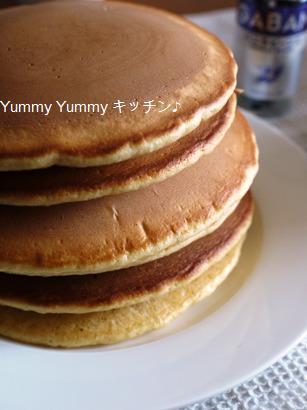 バニラビーンズでリッチなホットケーキ☆