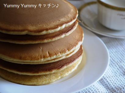 バニラビーンズでリッチなホットケーキ&バニラミルク☆