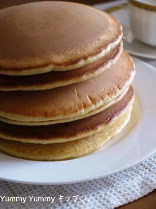 バニラビーンズでリッチなホットケーキ&バニラミルク♪