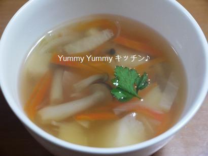 はんぺん入りスープ♪