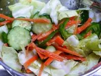 簡単☆野菜の塩だれあえ♪