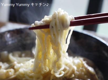 とんこつカルボナーラ麺☆