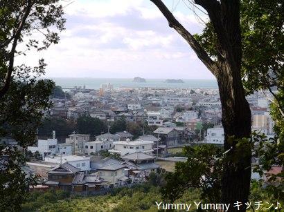 湯浅城跡見晴らし台