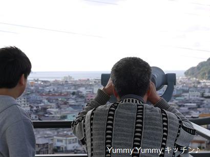 湯浅城展望台