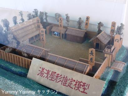 湯浅城湯浅屋形推定模型