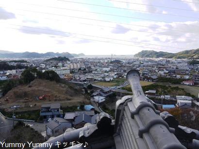 湯浅城からの眺め
