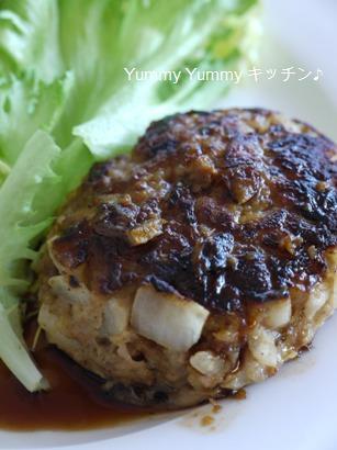 生姜豚ハンバーグ☆