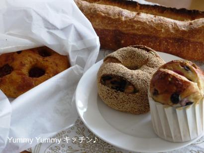 CONCENT MARKETのパン