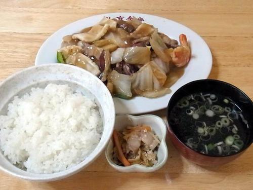 八宝菜ライスセット