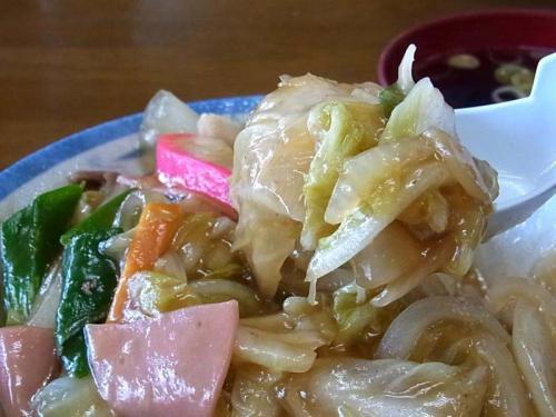 あんかけ野菜