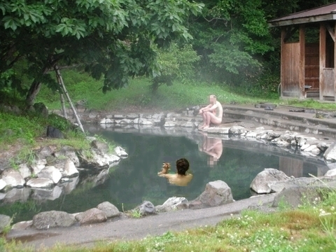 2011年7月 和琴露天風呂7