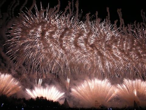 2011年 勝毎花火大会8
