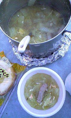 自家製つみれスープ