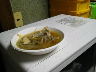 いわしスープ