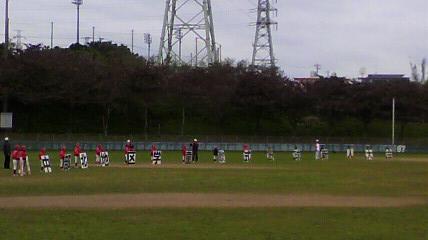軟式野球新人戦