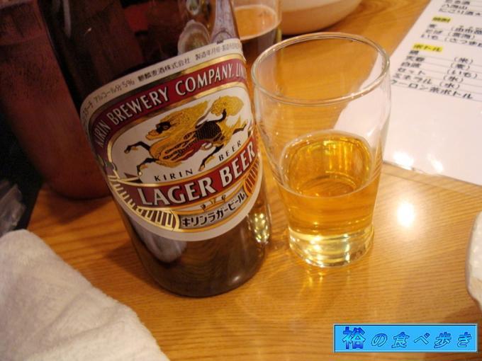 乾杯はビールで