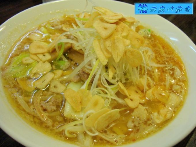 味噌拉麺+にんにく