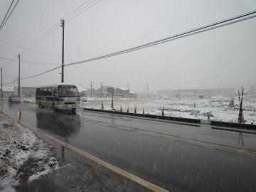 20101215初雪