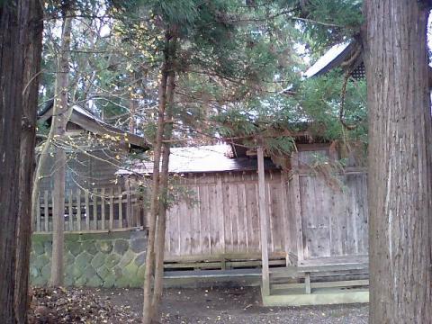 廣瀬神社25:横側