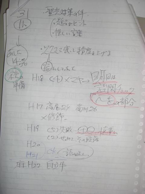 開成前日授業メモ001