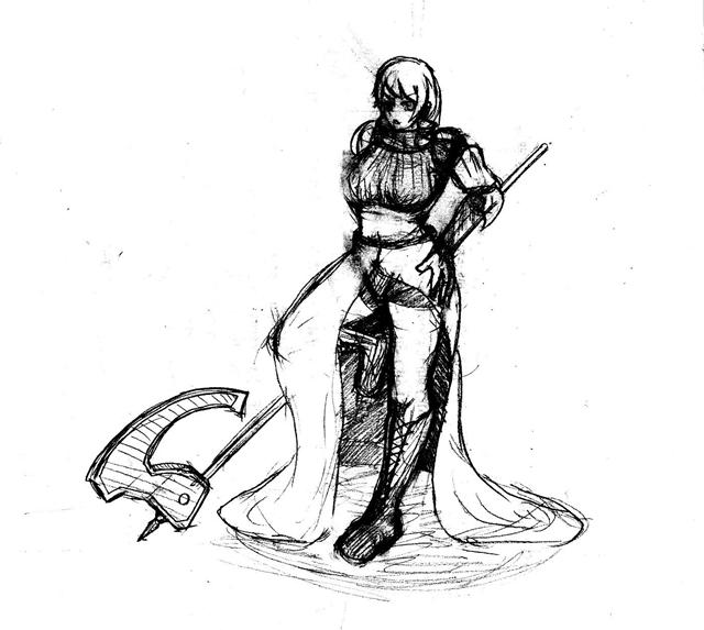 女戦士 ラフ