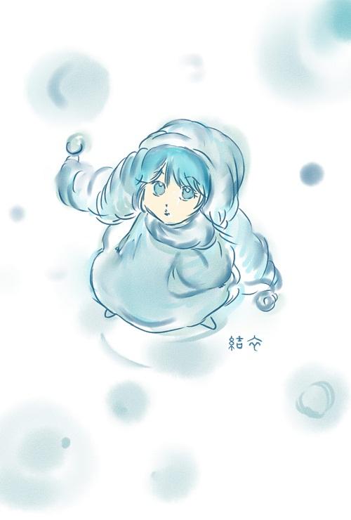 らくがき「雪」