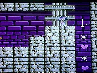 城面ステージ戻し穴